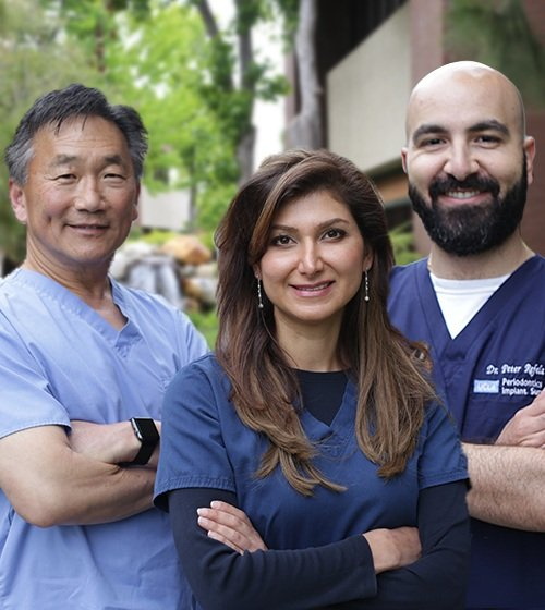 Dr. Hamzehpour, Dr. Cho, and Dr. Refela