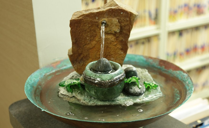 Decorative waterfountain