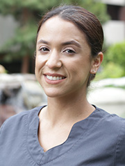 Headshot of registered dental assistant Adriana